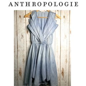 ANTHROPOLOGIE x EZE SUR MER chambray dress